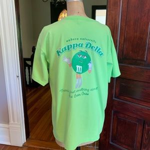 Auburn Kappa Delta Sorority T-shirt Large EUC